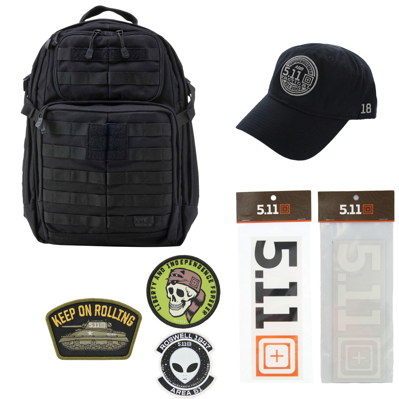 b8e95f1f79ff 5.11 Kits RUSH24 Tactical Backpack 37L