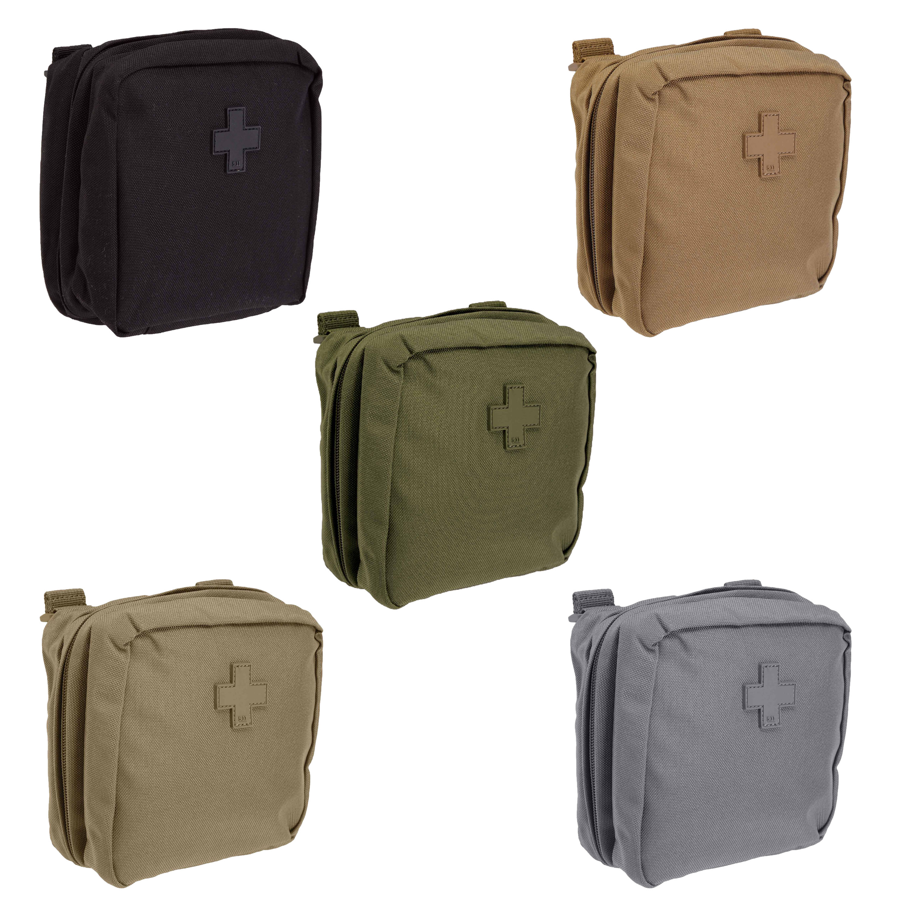 Details About 5 11 Tactical 6 X Medical Pouch Bag Nylon Molle Mesh Pockets Style 58715