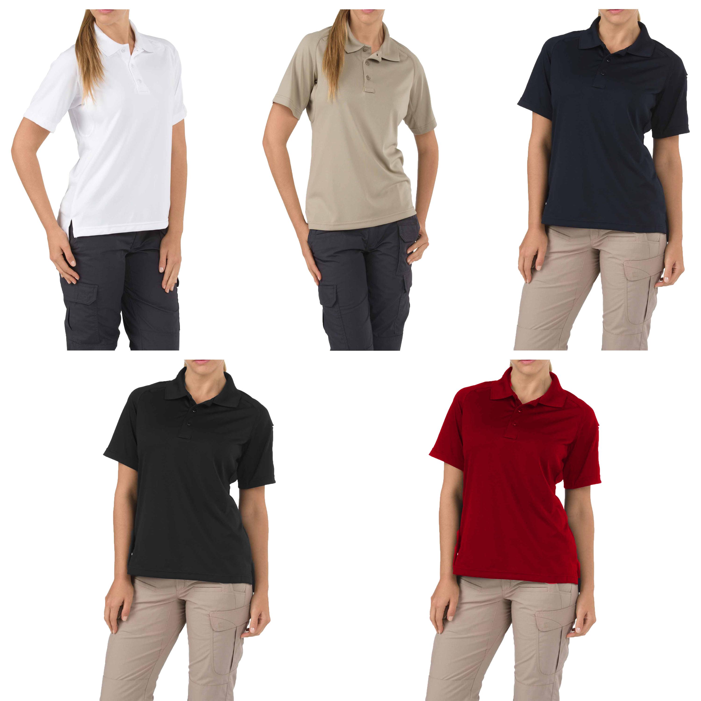 5.11 Womens Tactical Polo Short Sleeve Shirt