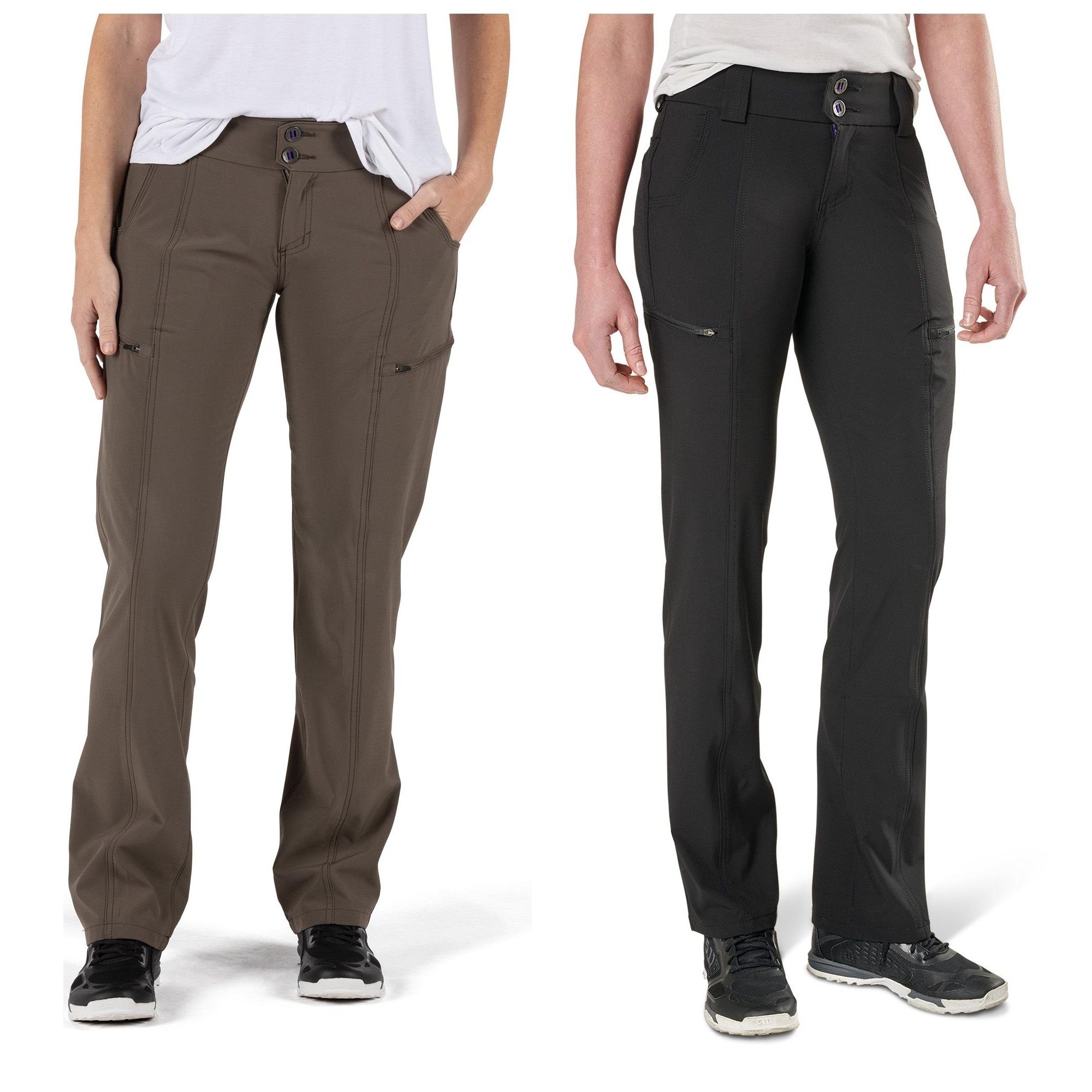 Contoured Waistband Style 64417 5.11 Tactical Women/'s Mesa Pants Cargo Pockets